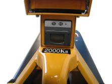 whw 2000d Wiegehubwagen mit Drucker