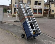 Leiterlift 200 Standard von GEDA mit umfangreichem Zubehör