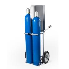 Stahl- und Gasflaschenkarre Matador 2x50Liter