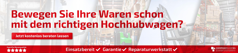 Hochhubwagen-Fachberatung vom companyshop24