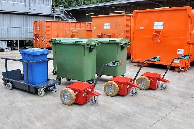 Mülltonnen-Anhänger Multi-Mover